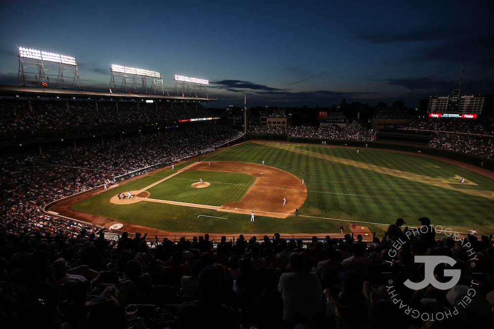Chicago Cubs vs. Boston Red Sox at Wrigley Field in Chicago, Ill., Sunday, June 17, 2012. Photo by J.Geil Photography.