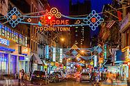 Mott St, Chinese signs, China Town, New York City, New York
