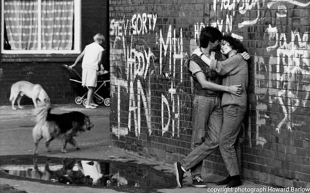 Young love - Salford in the 1980's
