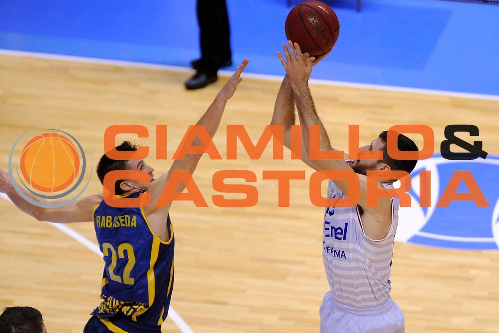 BRINDISI 02 DICEMBRE2014<br /> BASKET EUROCUP<br /> Enel Brindisi Gran Canaria<br /> NELLA FOTO Andrea Zerini<br /> FOTO CIAMILLO