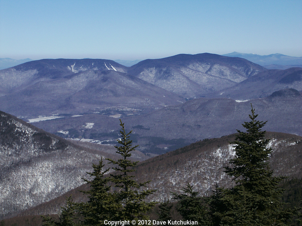 VIEW ATOP EQUINOX MT, MANCHESTER,VT LOOKING WEST