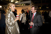 LAURA BAILEY; GUY NICHOLSON FashionExpo, fashion show and Awards. Business Design Centre, Upper st. London. 19 November 2008.  *** Local Caption *** -DO NOT ARCHIVE -Copyright Photograph by Dafydd Jones. 248 Clapham Rd. London SW9 0PZ. Tel 0207 820 0771. www.dafjones.com