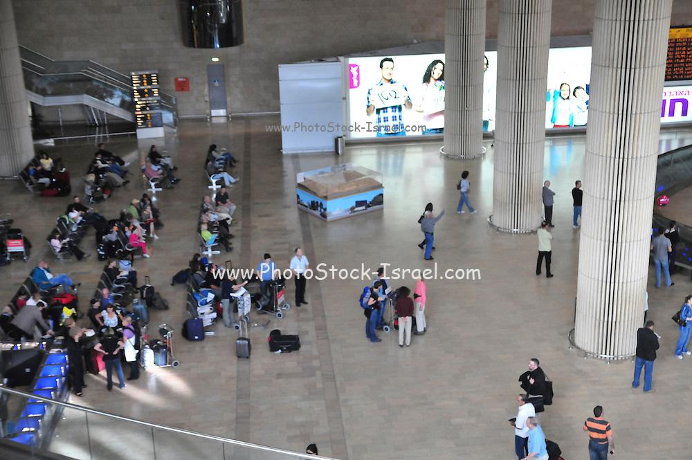 Israel, Ben-Gurion international Airport, Terminal 3, Arrival hall