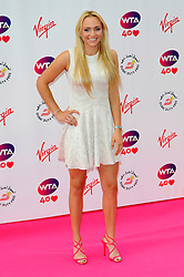 Wimbledon Party<br /> Angelique Kerber attends the annual pre-Wimbledon party at Kensington Roof Gardens,<br /> London, United Kingdom<br /> Thursday, 20th June 2013<br /> Picture by Chris  Joseph / i-Images