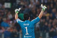 Gianluigi Buffon Juventus<br /> Roma 09-05-2018  Stadio Olimpico  <br /> Football Calcio Finale Coppa Italia / Italy's Cup Final 2017/2018 <br /> Juventus - Milan<br /> Foto Cesare Purini / Insidefoto