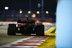September 16, 2018 - Singapore, Singapore - Motorsports: FIA Formula One World Championship 2018, Grand Prix of Singapore, .#16 Charles Leclerc (MCO, Alfa Romeo Sauber F1 Team) (Credit Image: © Hoch Zwei via ZUMA Wire)