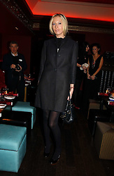 The HON.SOPHIA HESKETH at a party hosted by Camilla Al Fayed, Charlotte Stockdale and Patrick Cox in aid of the Evelina Children's Hospital Trust held at th Burlington Club, New Burlington Street, London on 12th December 2006.<br />