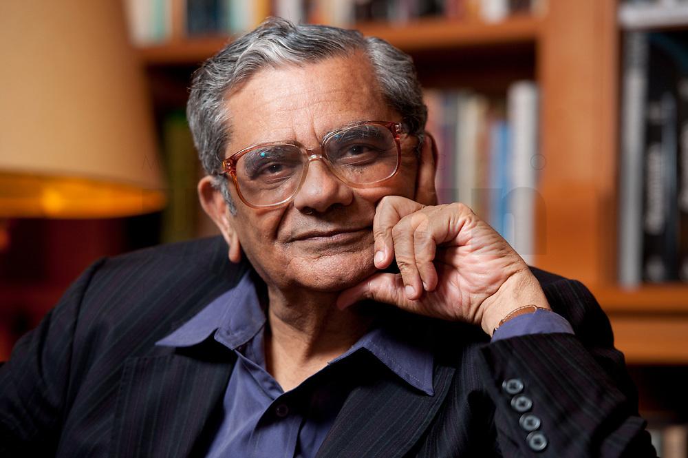 Jagdish Natwarlal Bhagwati, indischer Oekonom und Professor für Politik und Wirtschaft an der Columbia University, Bibiothek der American Academy, 31. Mai 2010