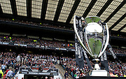 A view of the Guinness Premiership trophy before kick off. The Guinness Premiership final 2010 between Leicester Tigers and Saracens at Twickenham Stadium, London, England. May 29th, 2010. .