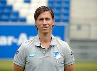 German Soccer Bundesliga - Photocall 1899 Hoffenheim on 15 July 2014 in Sinsheim, Germany: Assistant Coach Frank Fröhling.