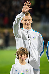 Valter Birsa (SLO) during the UEFA EURO 2016 Play-off for Final Tournament, Second leg between Slovenia and Ukraine, on November 17, 2015 in Stadium Ljudski vrt, Maribor, Slovenia. Photo by Ziga Zupan / Sportida