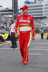 May 26, 2018 - Concord, North Carolina, United States of America - Michael Annett (5) hangs out on pit road before qualifying for the Alsco 300 at Charlotte Motor Speedway in Concord, North Carolina. (Credit Image: © Chris Owens Asp Inc/ASP via ZUMA Wire)