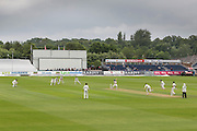 General image of ground during the LV County Championship Div 1 match between Durham County Cricket Club and Warwickshire County Cricket Club at the Emirates Durham ICG Ground, Chester-le-Street, United Kingdom on 13 July 2015. Photo by George Ledger.