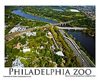 Aerial view of the Philadelphia Zoo