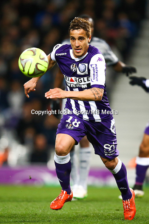 Oscar TREJO - 06.03.2015 - Toulouse / Marseille - 28eme journee de Ligue 1<br />