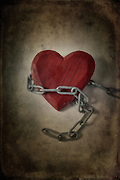 a heart in chains