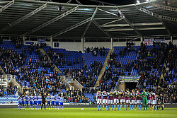 Reading and Aston Villa observe a one minute silence for King Bhumibol - Mandatory by-line: Jason Brown/JMP - 18/10/2016 - FOOTBALL - Madejski Stadium - Reading, England - Reading v Aston Villa - Sky Bet Championship