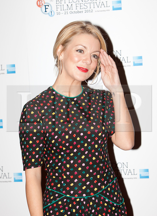 © Licensed to London News Pictures. 15/10/2012. London, U.K..actress Sheridan Smith today (15/10/2012) at the Empire theatre FOR THE BFI London film festival, Leicester Square for the film 'Quartet' directed by Dustin Hoffman and starring Billy Connolly, Pauline Collins, Tom Courtney, Sheridan Smith and Maggie Smith..Photo credit : Rich Bowen/LNP