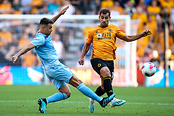 Jonny of Wolverhampton Wanderers takes on Matthew Lowton of Burnley - Mandatory by-line: Robbie Stephenson/JMP - 25/08/2019 - FOOTBALL - Molineux - Wolverhampton, England - Wolverhampton Wanderers v Burnley - Premier League