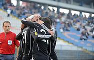 FUDBAL, BEOGRAD, 07. Nov. 2010. -  Utakmica 11. kola Jelen Superlige Srbije (2010/2011) izmedju BSK Borca i Partizana. Foto: Nenad Negovanovic