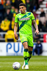 Ben Godfrey of Norwich City - Mandatory by-line: Robbie Stephenson/JMP - 14/04/2019 - FOOTBALL - DW Stadium - Wigan, England - Wigan Athletic v Norwich City - Sky Bet Championship