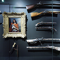 Nederland, Amsterdam , 20 maart 2013..Het gerenoveerde Rijksmuseum gefotografeerd .Op de foto: een zaal met kunst uit de periode 17e 18e eeuw?.Foto:Jean-Pierre Jans