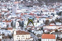 21.02.2019, Bergiselschanze, Innsbruck, AUT, FIS Weltmeisterschaften Ski Nordisch, Seefeld 2019, Nordische Kombination, Skisprung, Training, im Bild Bernhard Gruber (AUT) // Bernhard Gruber of Austria during a training of Ski Jumping competition for Nordic Combined of FIS Nordic Ski World Championships 2019. Bergiselschanze in Innsbruck, Austria on 2019/02/21. EXPA Pictures © 2019, PhotoCredit: EXPA/ Dominik Angerer