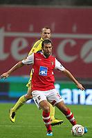 20111103 Braga: SC Braga vs. NK Maribor, UEFA Europa League, Group H, 4th round. In picture: Hugo Viana. Photo: Pedro Benavente/Cityfiles
