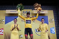 CYCLING - TOUR DE FRANCE 2012 - STAGE 1 - Liege > Seraing (198 km) - 01/07/2012 - PHOTO MANUEL BLONDEAU / DPPI - RADIOSHACK NISSAN TEAMRIDER FABIAN CANCELLARA OF SWITZERLAND
