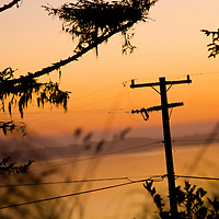 Power Lines | Energy | Climate Change Story | Oregon Sunset | Drew Bird Photography | San Francisco Freelance Photographer | Freelance Photojournalist | Oakland Event Photographer