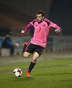Scotland's Paul McMullen - Scotland under 21s v Estonia international challenge match at St Mirren Park, St Mirren. Pic David Young<br />  <br /> - © David Young - www.davidyoungphoto.co.uk - email: davidyoungphoto@gmail.com