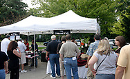 Young's Jersey Dairy and The Oakwood Club were two vendors with lines during the 21st annual The Taste in the Lincoln Park Commons area at the Fraze Pavilion, Thursday, September 3, 2009.