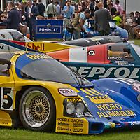 #15 Porsche 962-003 BM - One of the most successful 1989 World Championship Porsches and two-time Le Mans entrant (Salon Privé in London, UK, 24 June 2011)