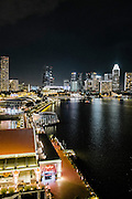View from Fullerton Bay hotel, Singapore