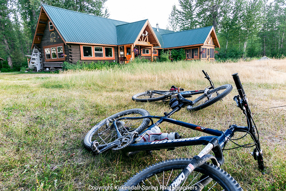 BC00649-00...MONTANA - The North Fork Hostel in Polebridge.