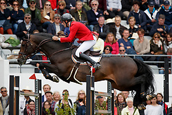 Van Paesschen Constant, BEL, Carlow vd Helle<br /> FEI Nations Cup presented by Longines<br /> Longines Jumping International de La Baule 2017<br /> © Dirk Caremans<br /> 12/05/2017