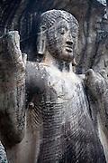 SASSERUWA temple. the Buddha statue.