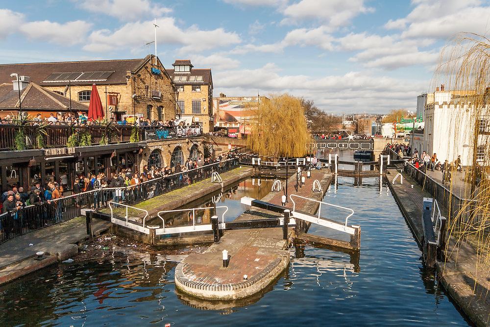 Camden Lock In North London