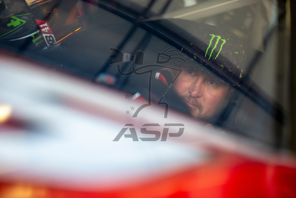 June 22, 2018 - Sonoma, California , USA: Kurt Busch (41) gets ready to take to the track to practice for the TOYOTA/SAVE MART 350 at Sonoma Raceway in Sonoma, California .
