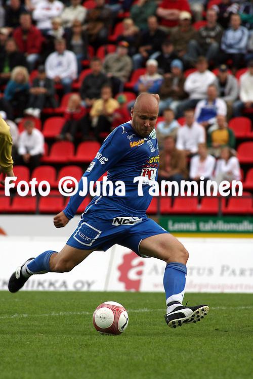 19.07.2006, Ratina, Tampere, Finland..Veikkausliiga 2006 - Finnish League 2006.Tampere United - HJK Helsinki.Ville Lehtinen - TamU.©Juha Tamminen.....ARK:k