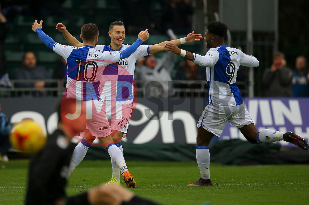 Goal, Billy Bodin of Bristol Rovers scores. Bristol Rovers 1-0 Northampton Town - Mandatory by-line: Jason Brown/JMP - 07/01/2017 - FOOTBALL - Memorial Stadium - Bristol, England - Bristol Rovers v Northampton Town - Sky Bet League One
