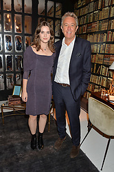 SAI BENNETT and JOHN LICENCE Brand Leader for Autograph Collection Hotels at a dinner hosted by Autograph Collection Hotels held at 19 Greek Street, Soho, London on 12th October 2016.