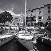 Lago Di Garda - monochrome
