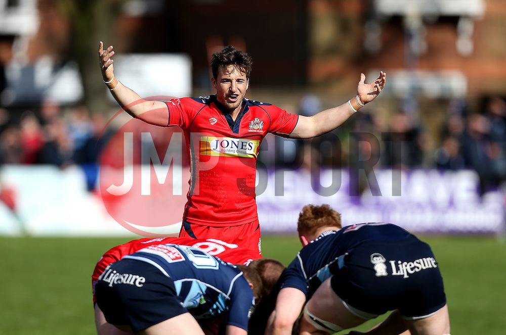 Martin Roberts replacement for Bristol Rugby - Mandatory by-line: Robbie Stephenson/JMP - 23/04/2016 - RUGBY - Goldrington Road - Bedford, England - Bedford Blues v Bristol Rugby - Greene King IPA Championship