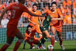 01-06-2019 NED: Netherlands - Australia, Eindhoven<br /> <br /> Friendly match in Philips stadion Eindhoven. Netherlands win 3-0 / Dominique Bloodworth Janssen #20 of The Netherlands
