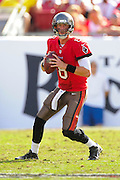 Tampa Bay Buccaneers quarterback Mike Glennon (8) during the Buccaneers 41-28 win over the Atlanta Falcons at Raymond James Stadium on Nov. 17, 2013 in Tampa, Florida. <br /> <br /> &copy; 2013 Scott A. Miller