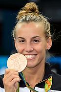 CAGNOTTO Tania ITA <br /> Bronze Medal <br /> Rio de Janeiro 14-08-2016 Maria Lenka Aquatics Center  <br /> Diving Women's 3m Springboard<br /> Tuffi Trampolino <br /> Foto Andrea Staccioli / Deepbluemedia /Insidefoto
