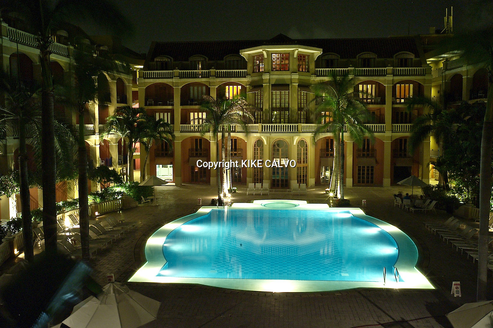 Luxury Sofitel Santa Clara Hotel. Cartagena. Colombia.