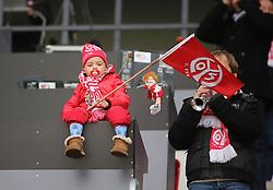19.01.2013, Coface Arena, Mainz, GER, 1. FBL, 1. FSV Mainz 05 vs SC Freiburg, 18. Runde, im Bild Mainz-Fan // during the German Bundesliga 18th round match between 1. FSV Mainz 05 and SC Freiburg at the Coface Arena, Mainz, Germany on 2013/01/19. EXPA Pictures © 2013, PhotoCredit: EXPA/ Eibner/ Matthias Neurohr..***** ATTENTION - OUT OF GER *****