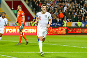 Goal England midfielder Harry Winks scores a goal and celebrates 0-1 during the UEFA European 2020 Qualifier match between Kosovo and England at the Fadil Vokrri Stadium, Pristina, Kosovo on 17 November 2019.